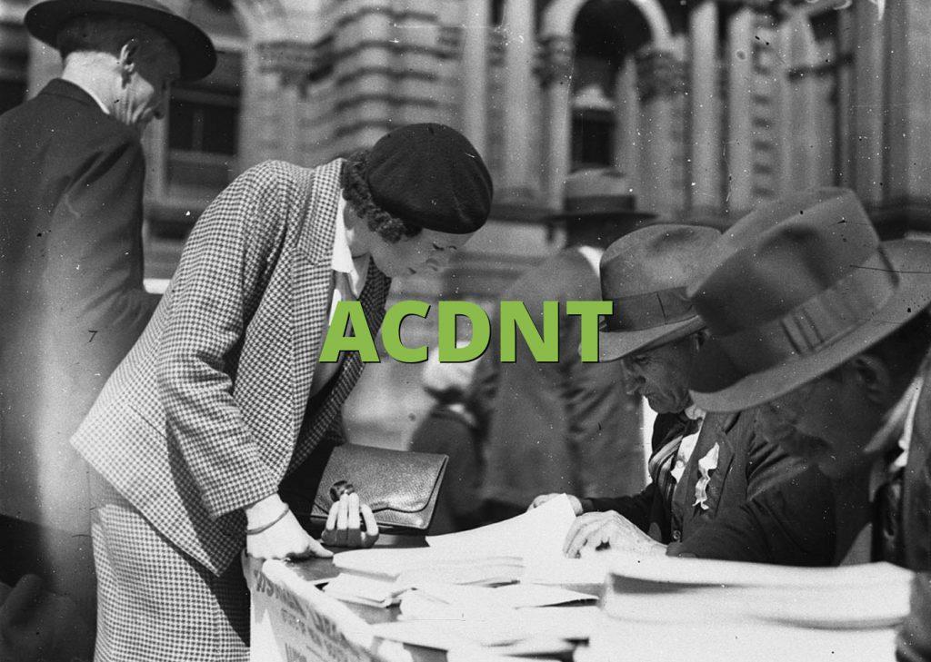 ACDNT