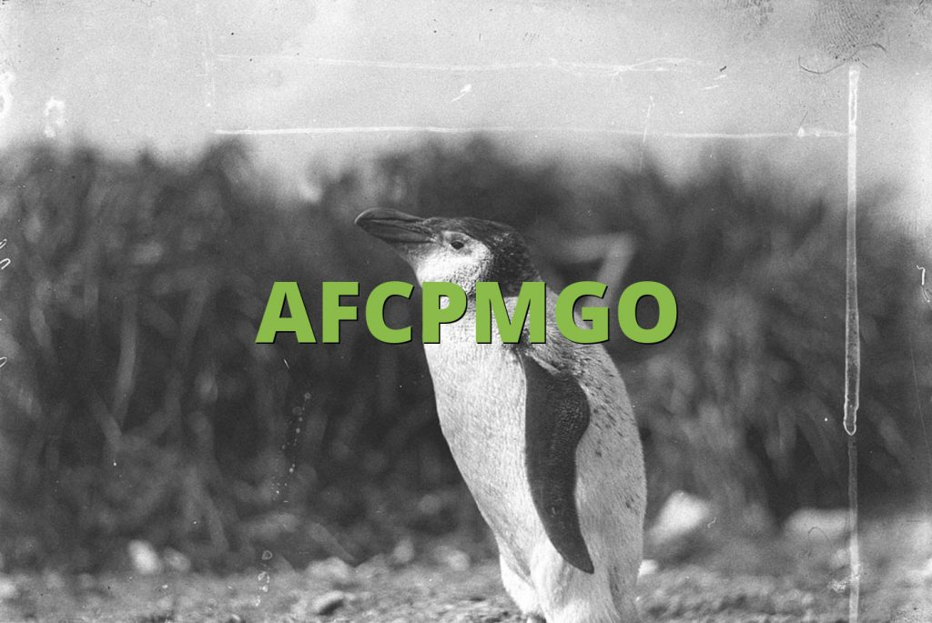 AFCPMGO