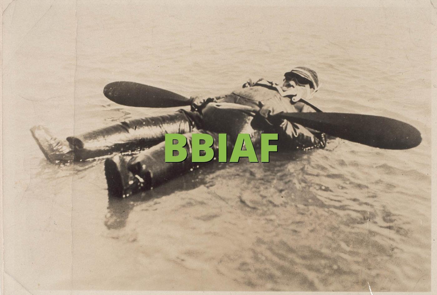 BBIAF