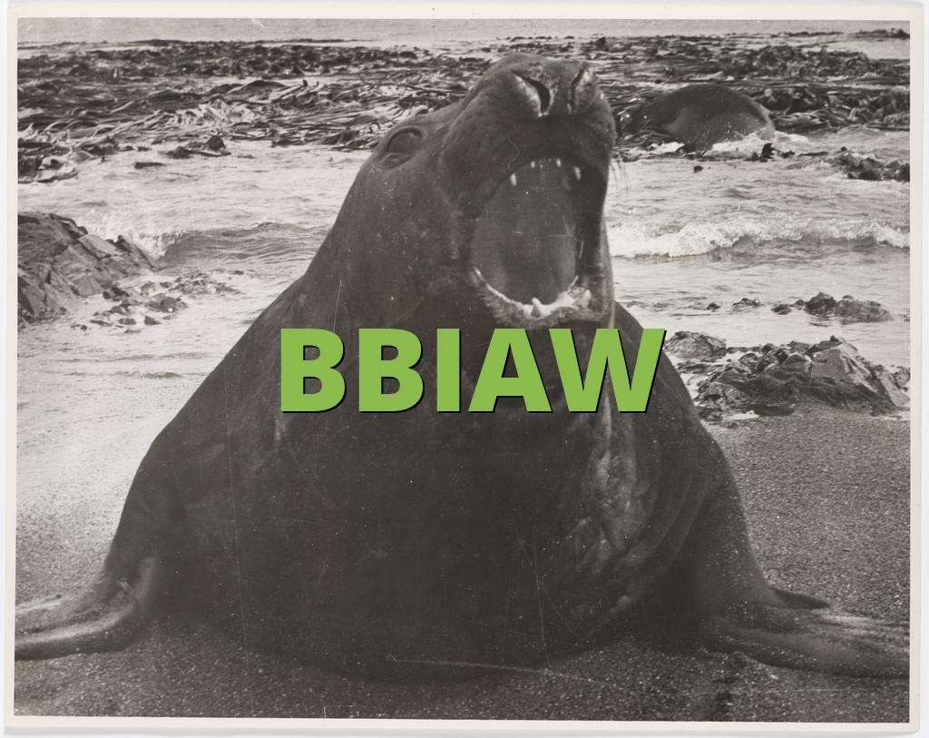 BBIAW