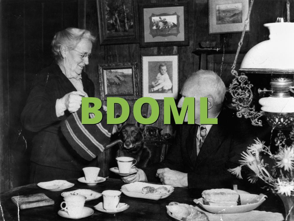BDOML