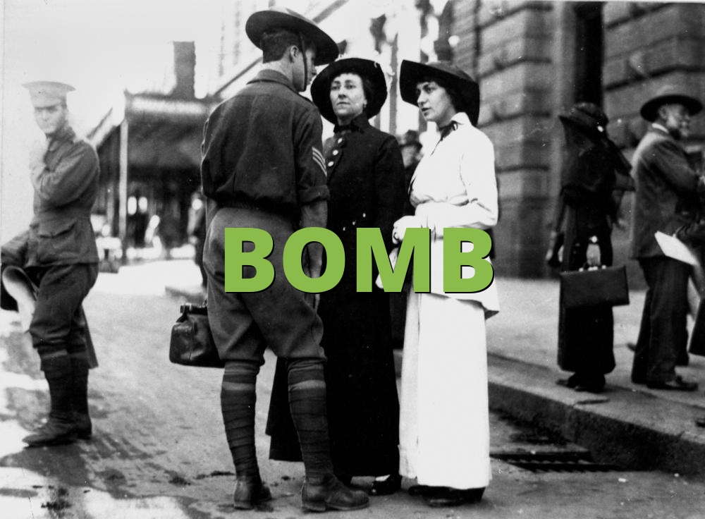 BOMB » What does BOMB mean? » Slang.org