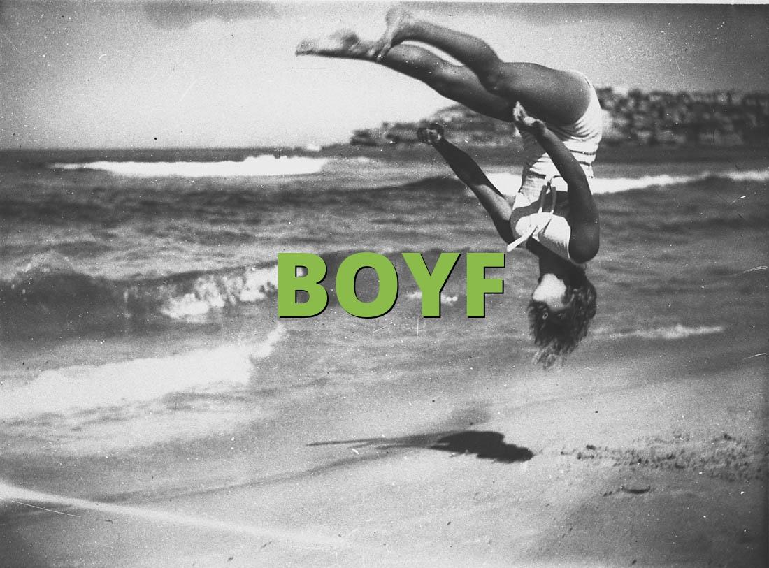 What does boyf mean