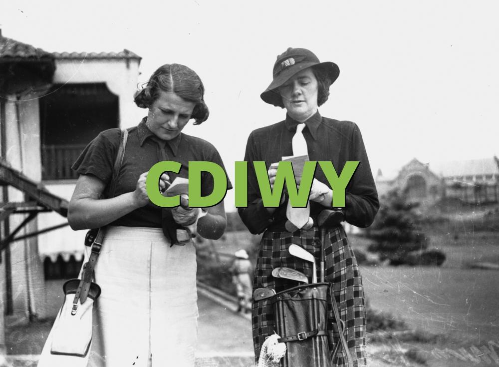 CDIWY