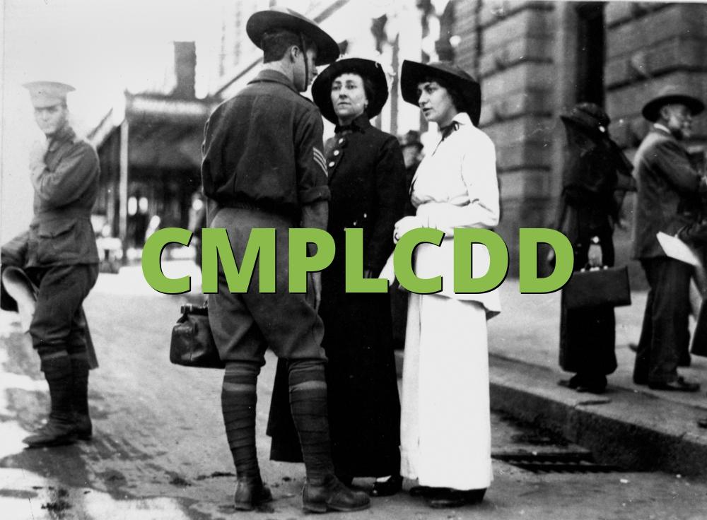 CMPLCDD