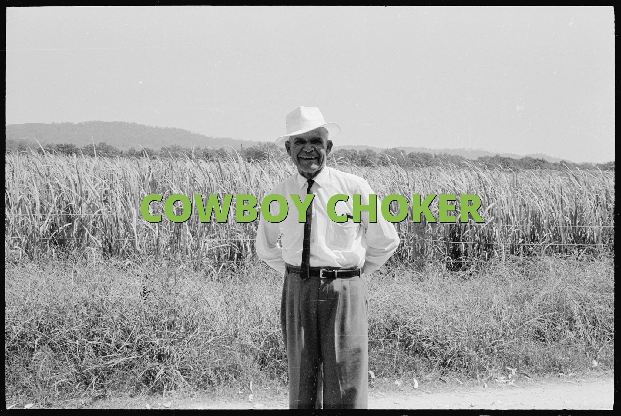 COWBOY CHOKER