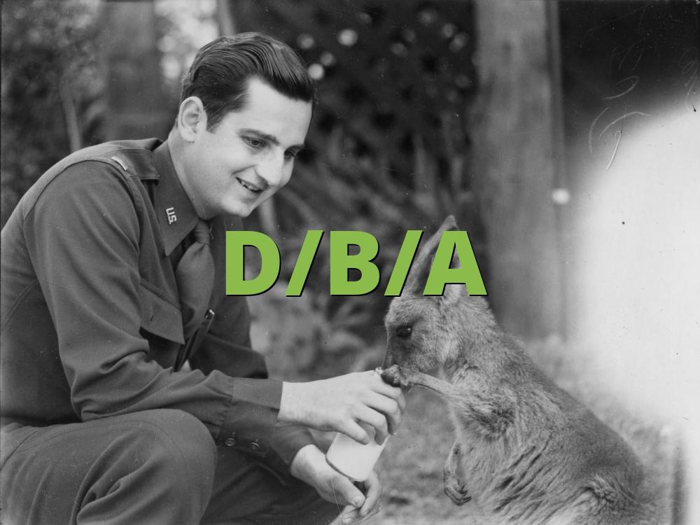 D/B/A