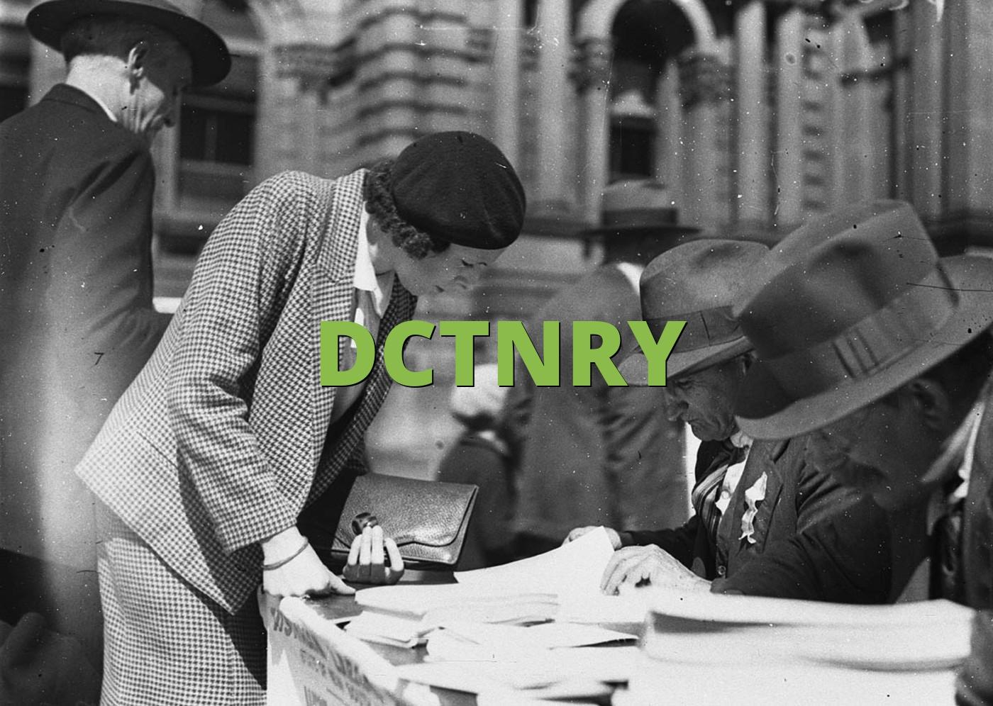 DCTNRY