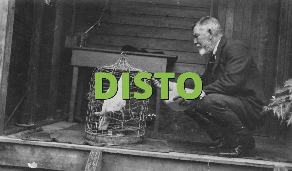DISTO