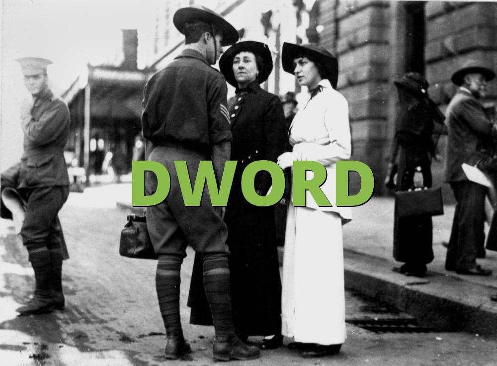 DWORD