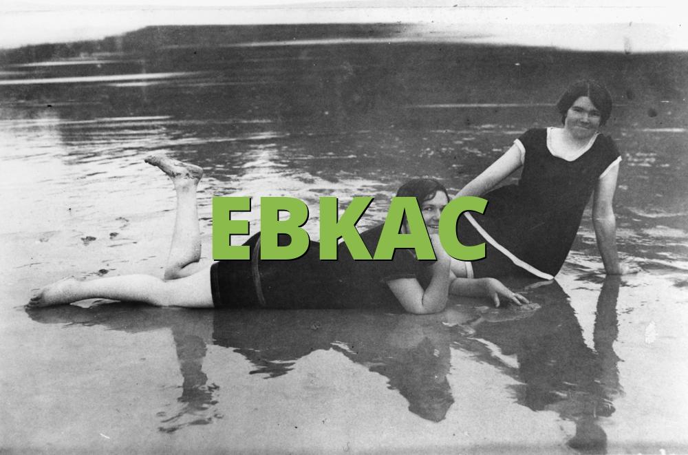 EBKAC