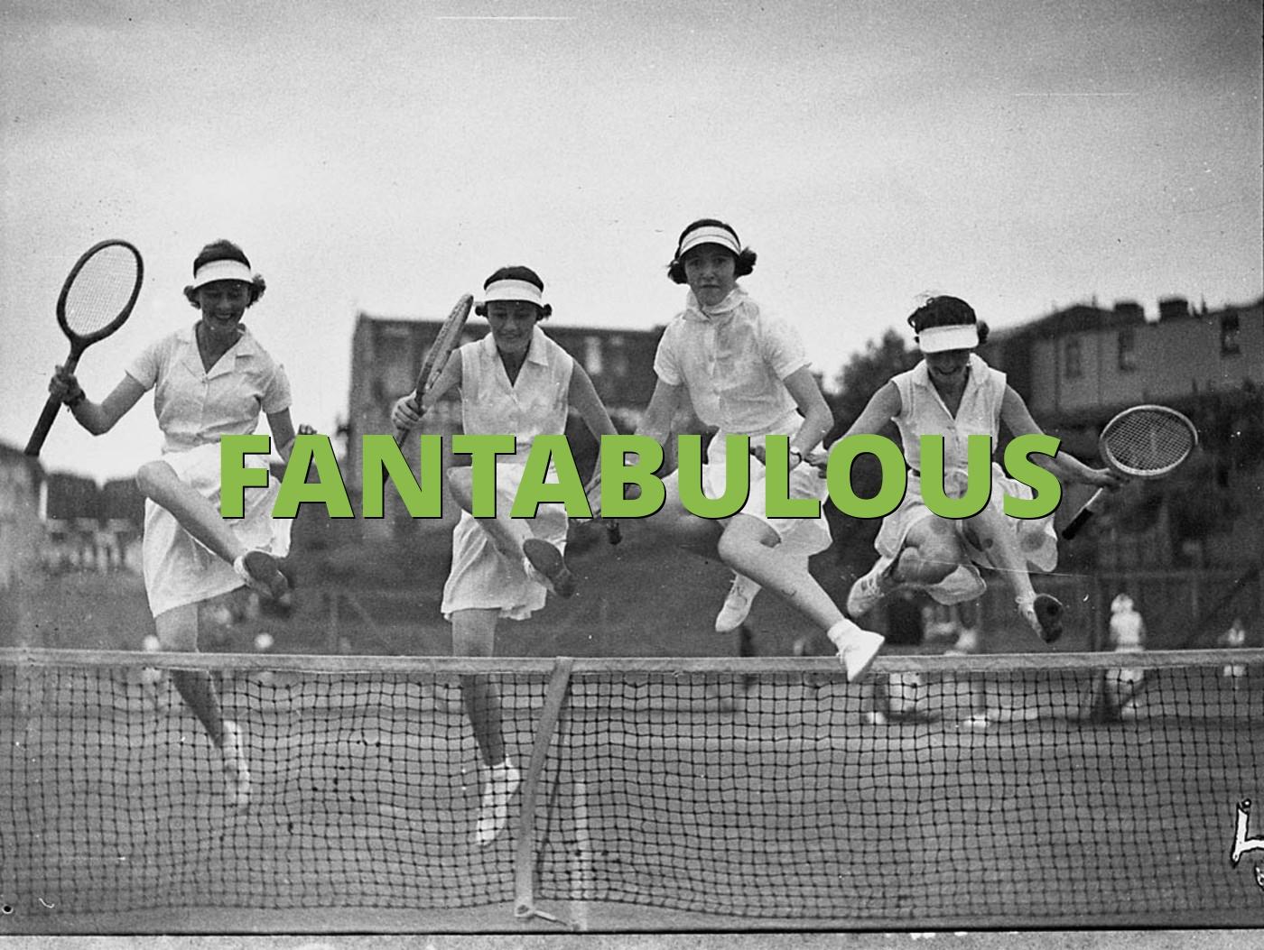 FANTABULOUS
