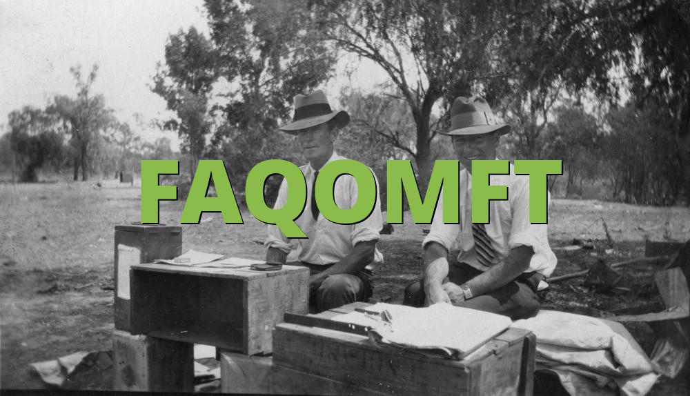 FAQOMFT