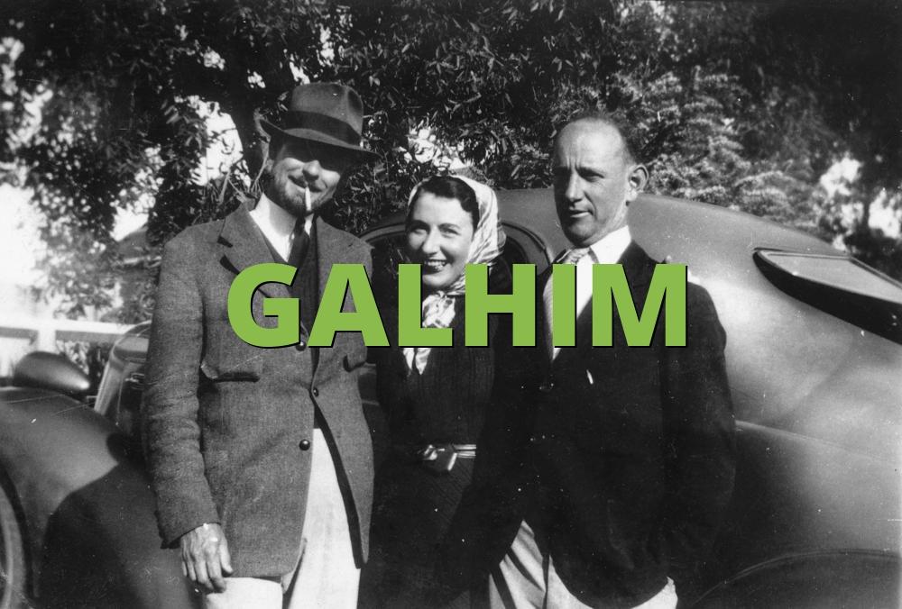 GALHIM