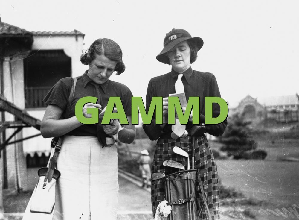GAMMD