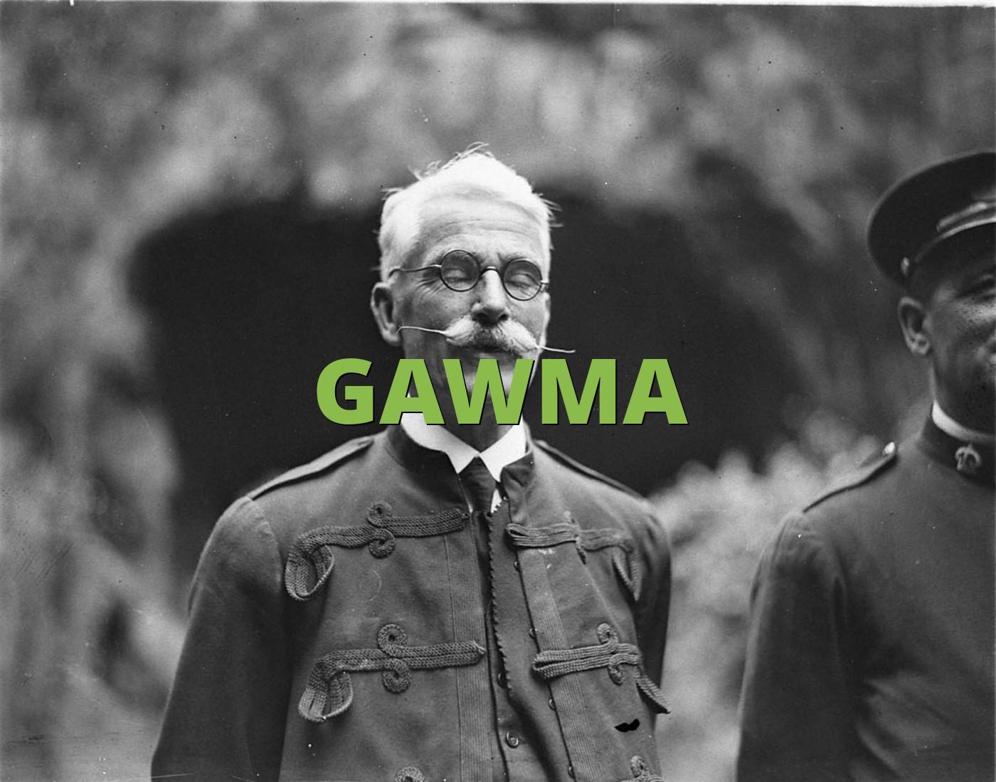 GAWMA