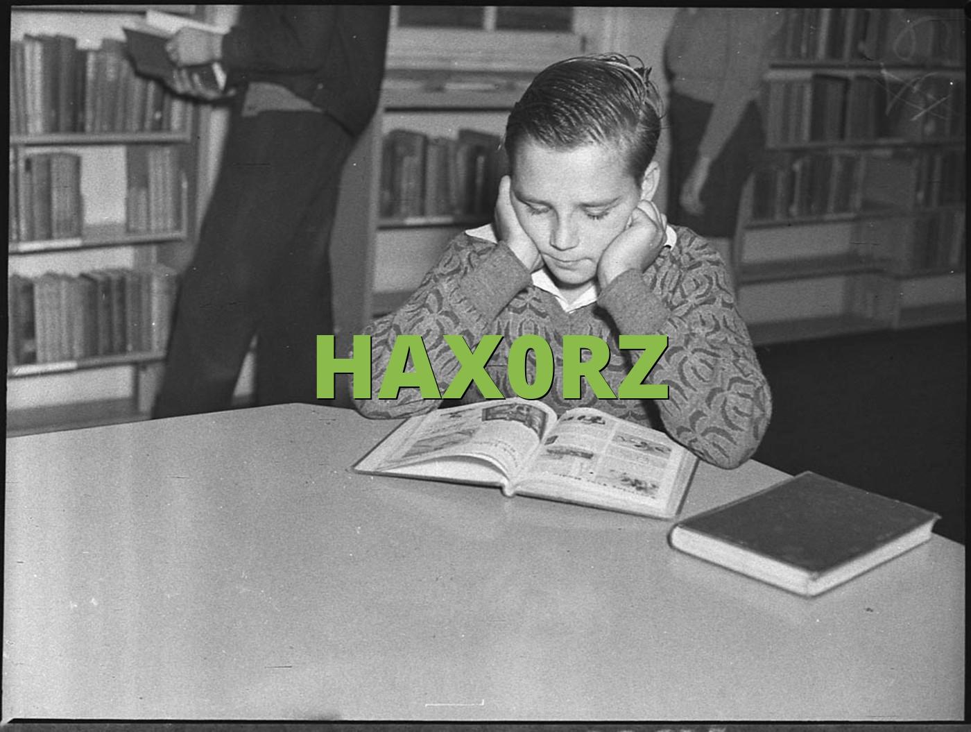 HAX0RZ