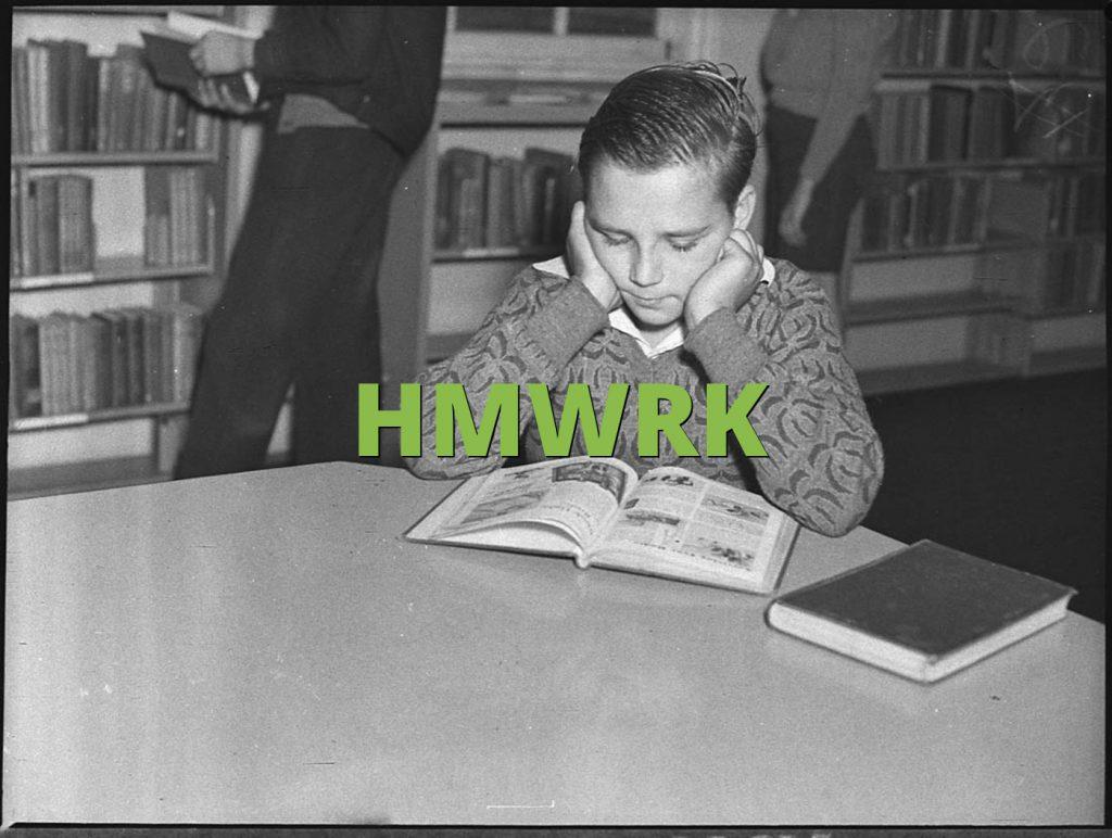 HMWRK