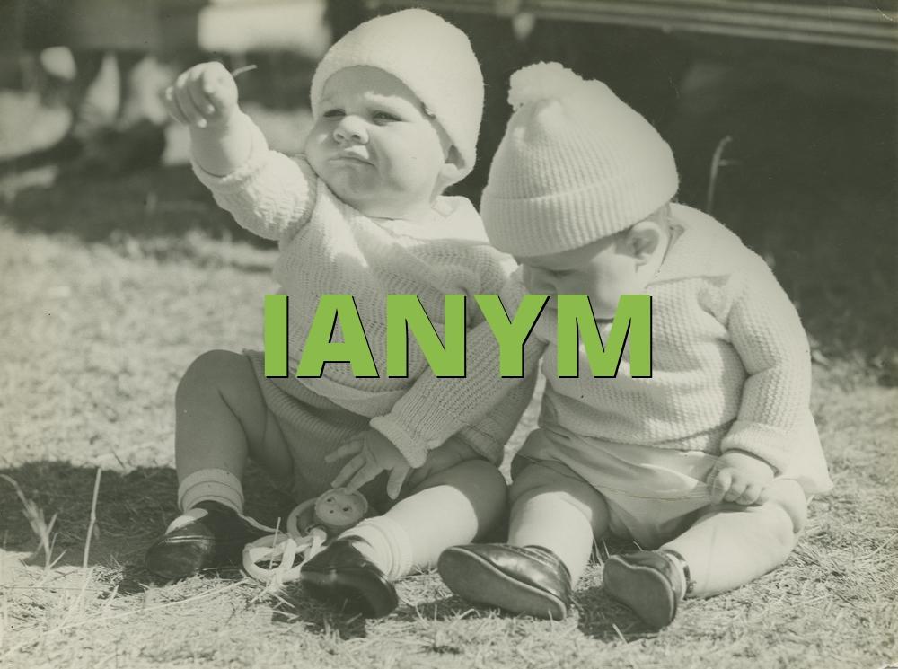 IANYM
