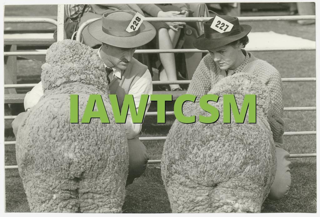 IAWTCSM