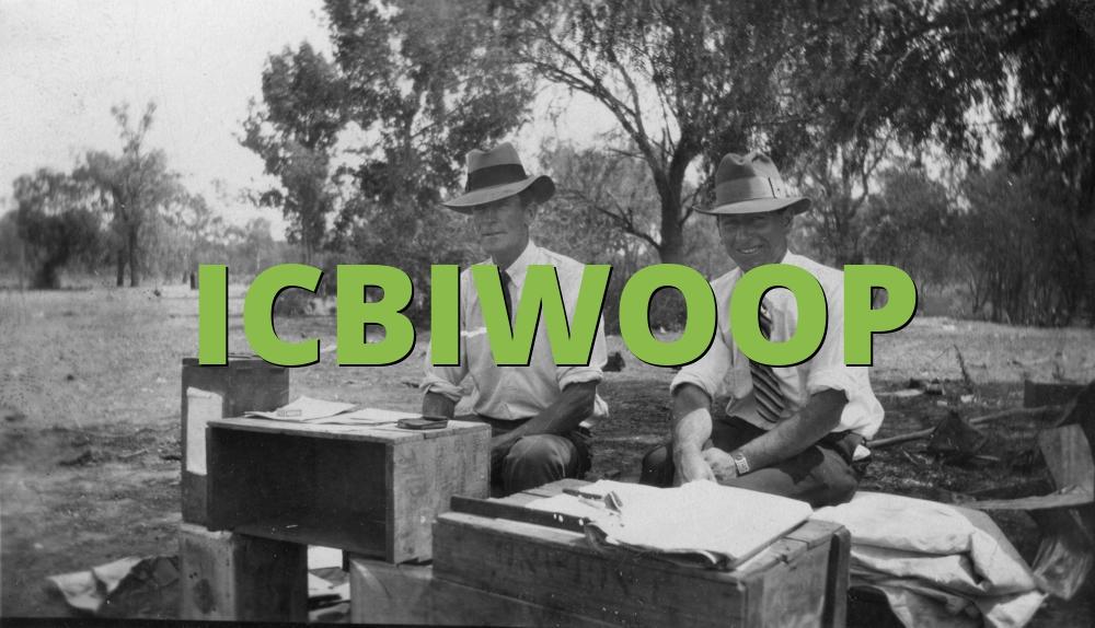 ICBIWOOP