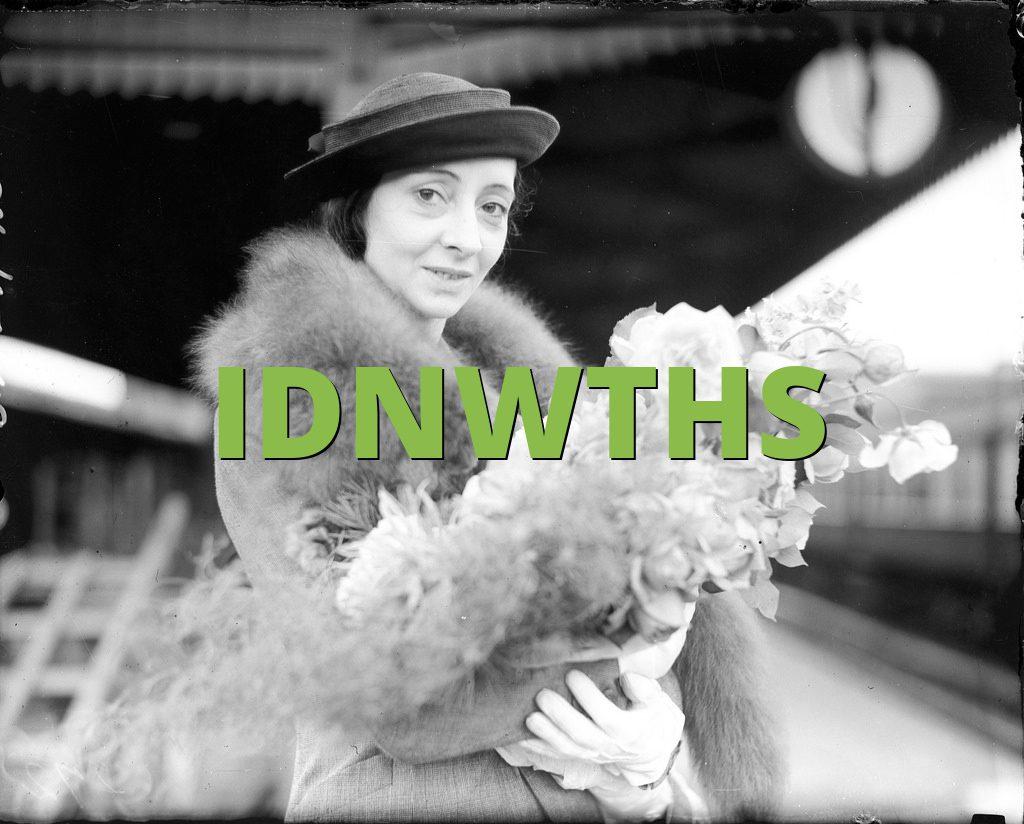 IDNWTHS