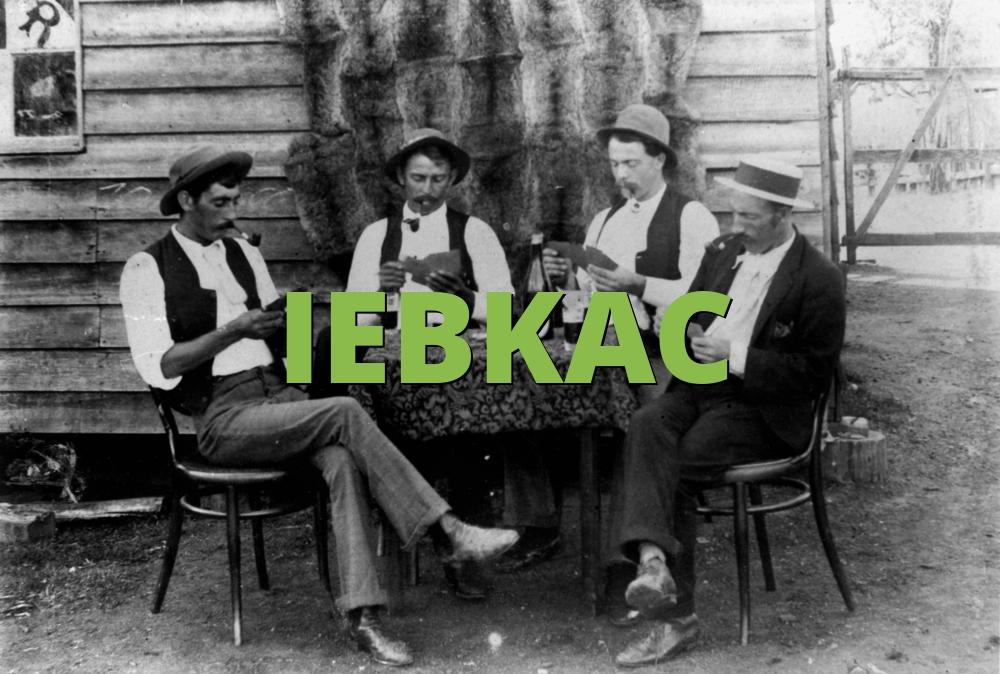 IEBKAC