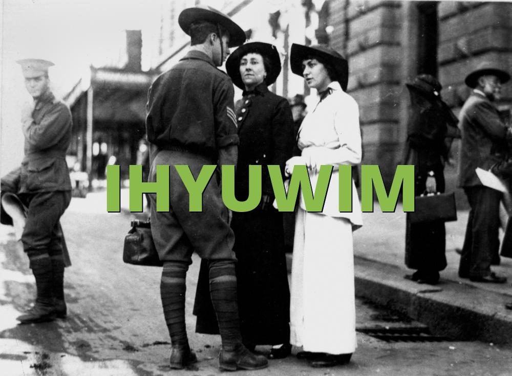 IHYUWIM