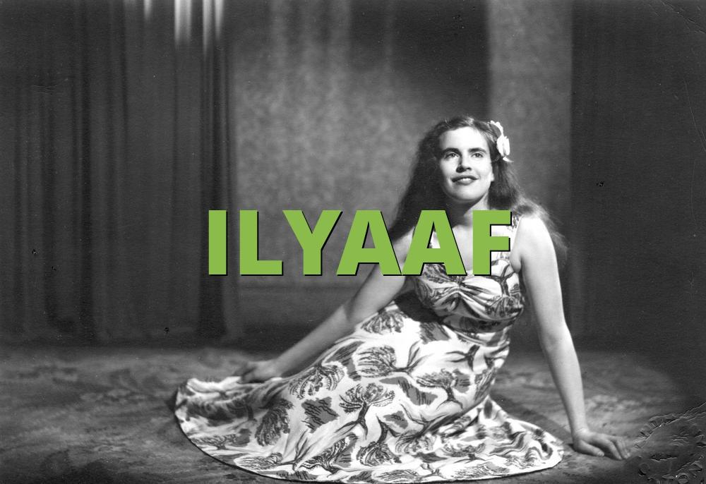 ILYAAF