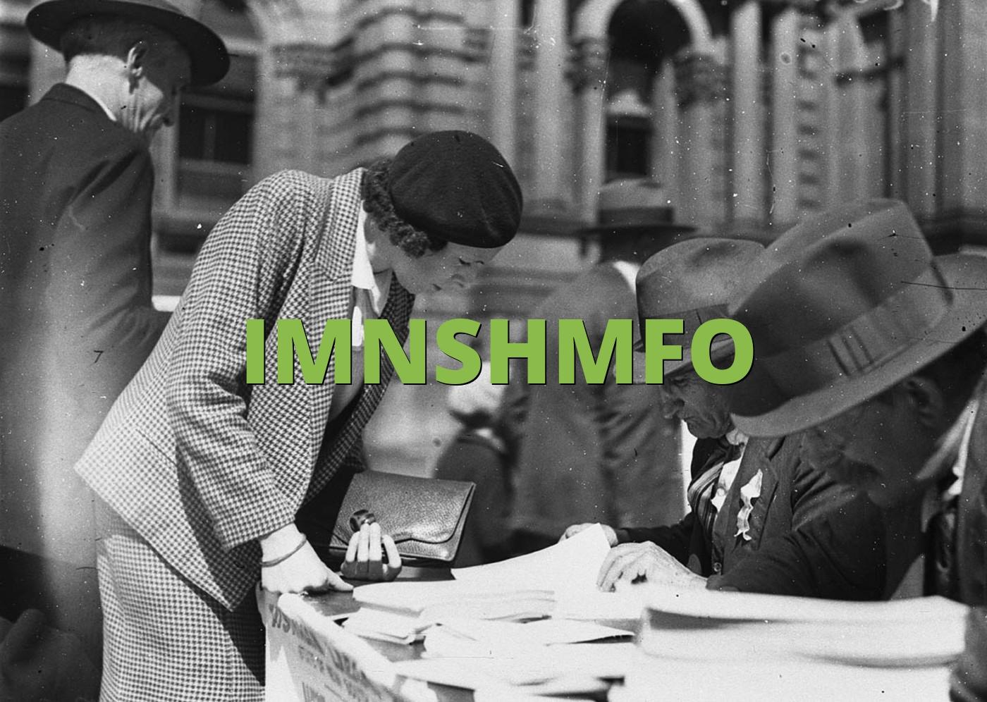 IMNSHMFO