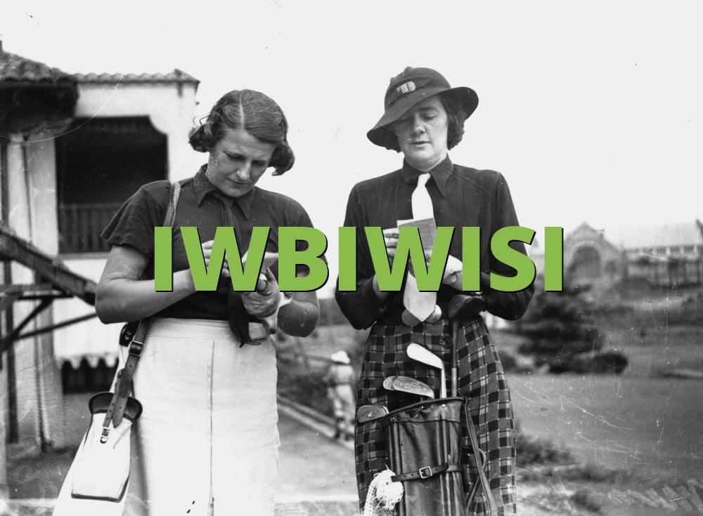 IWBIWISI