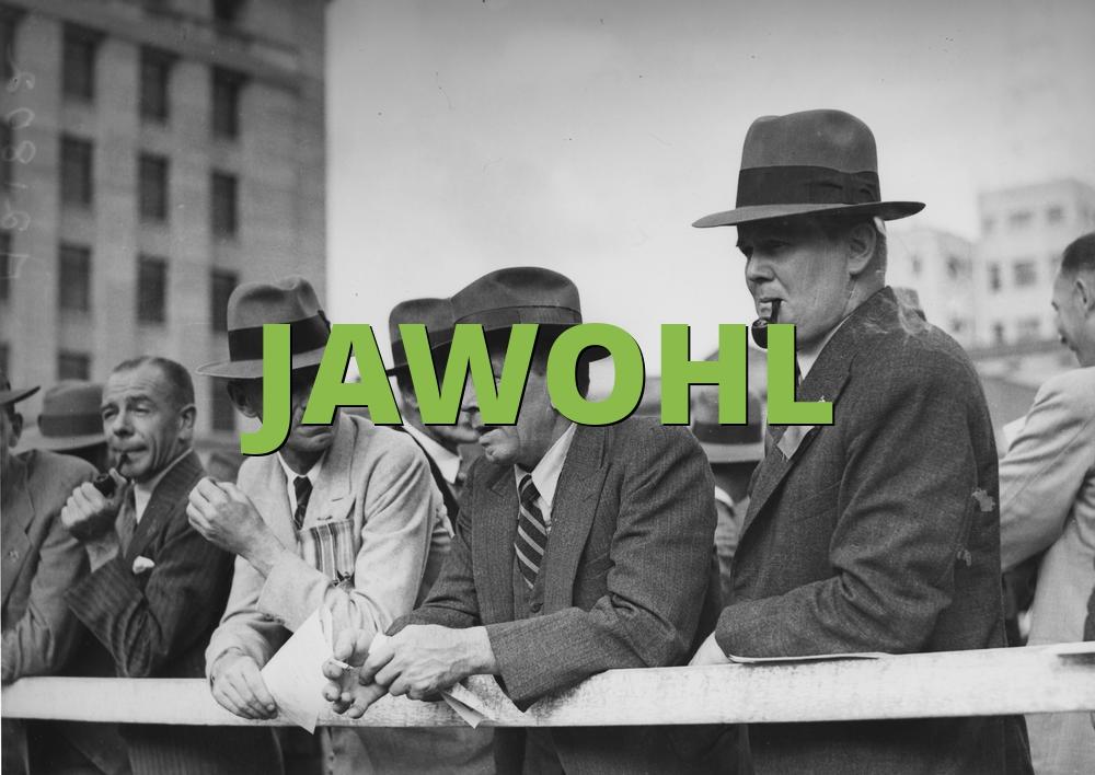 JAWOHL
