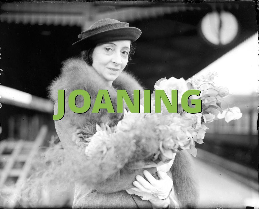 JOANING