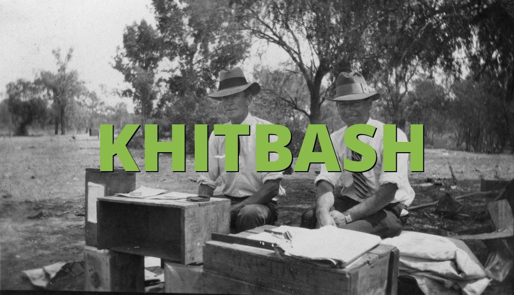KHITBASH