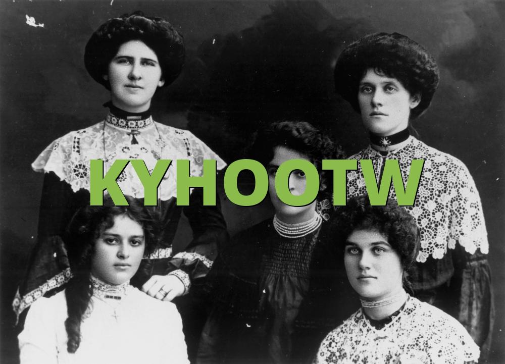 KYHOOTW