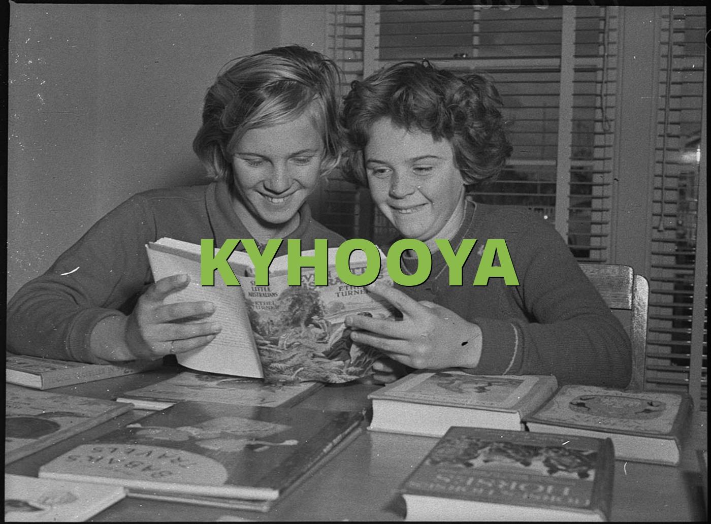 KYHOOYA