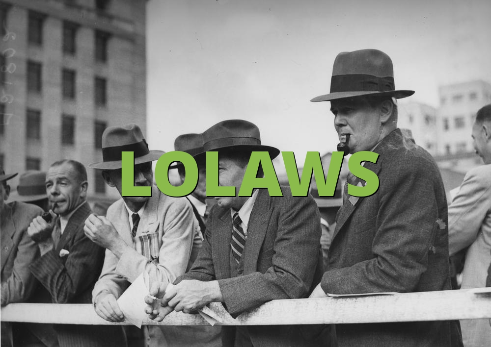 LOLAWS