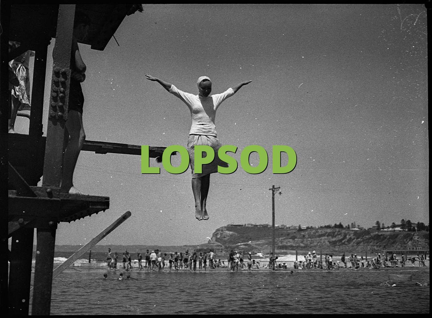 LOPSOD