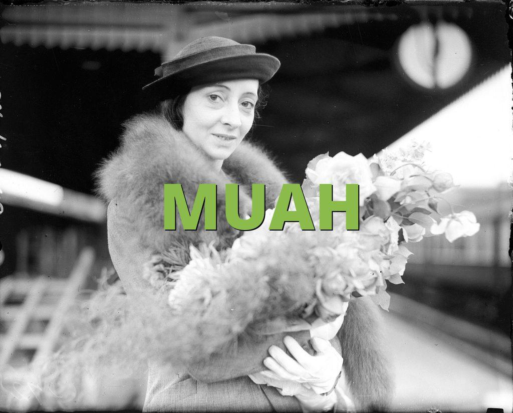 Definition of muah