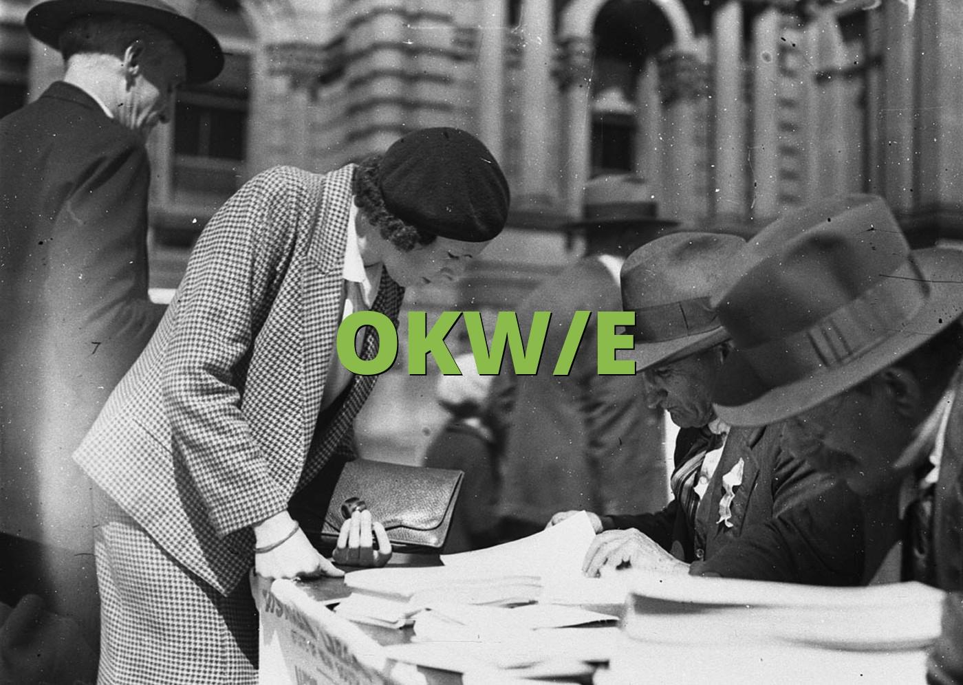 OKW/E