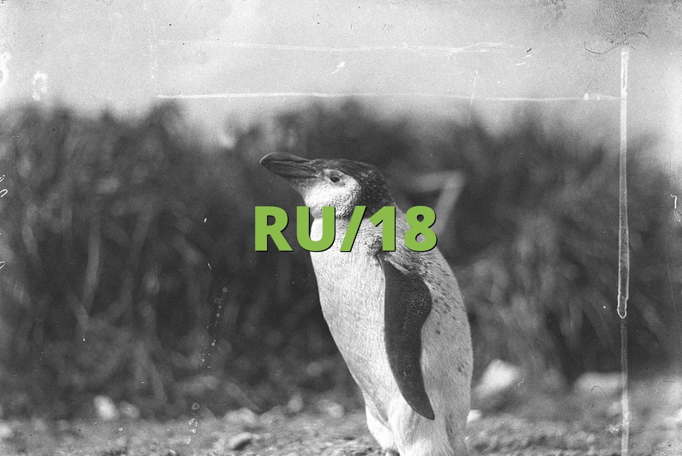 RU/18