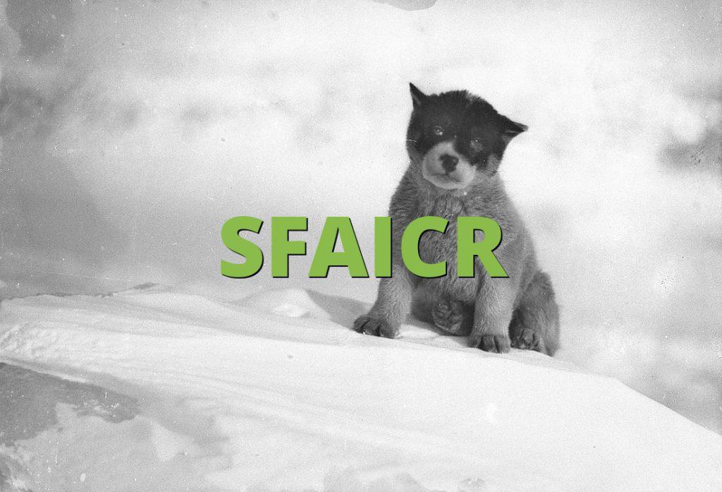 SFAICR
