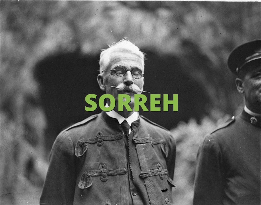 SORREH