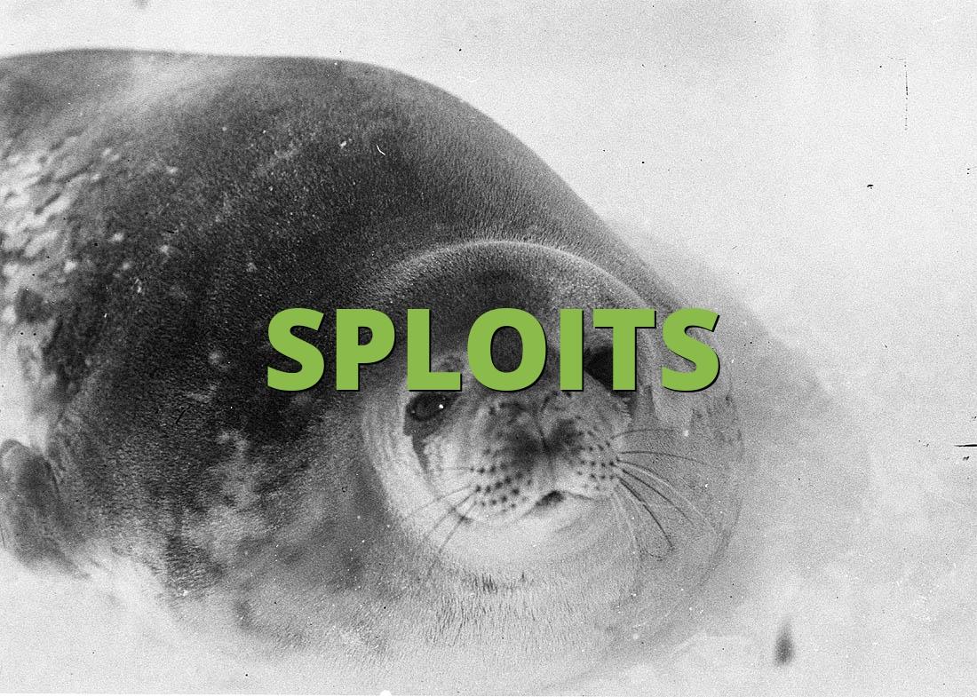 SPLOITS