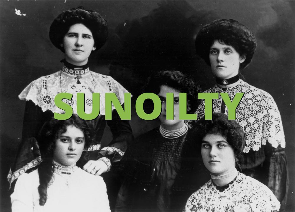 SUNOILTY