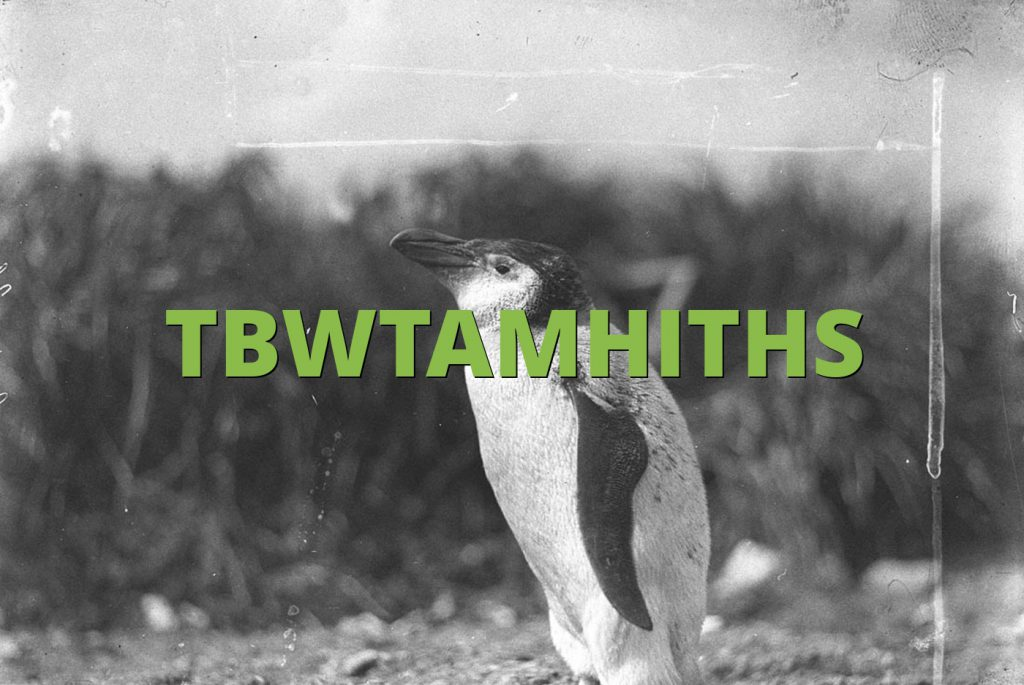 TBWTAMHITHS