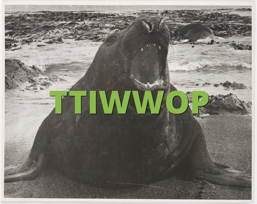 TTIWWOP