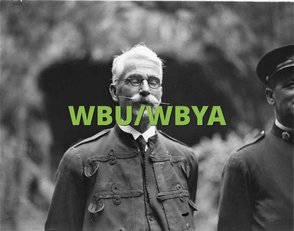 WBU/WBYA