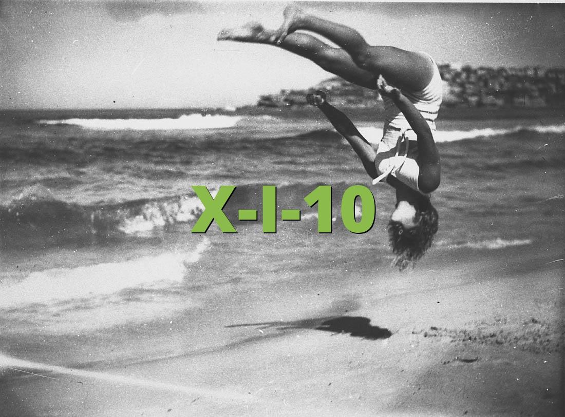 X-I-10