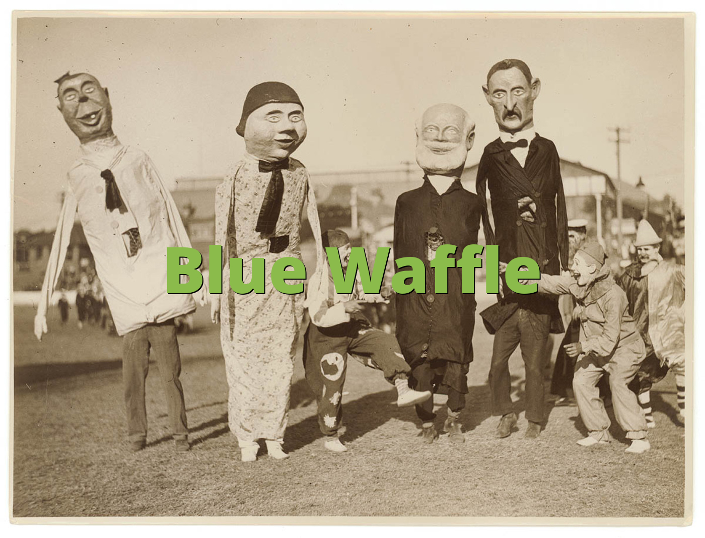 Blue Waffle